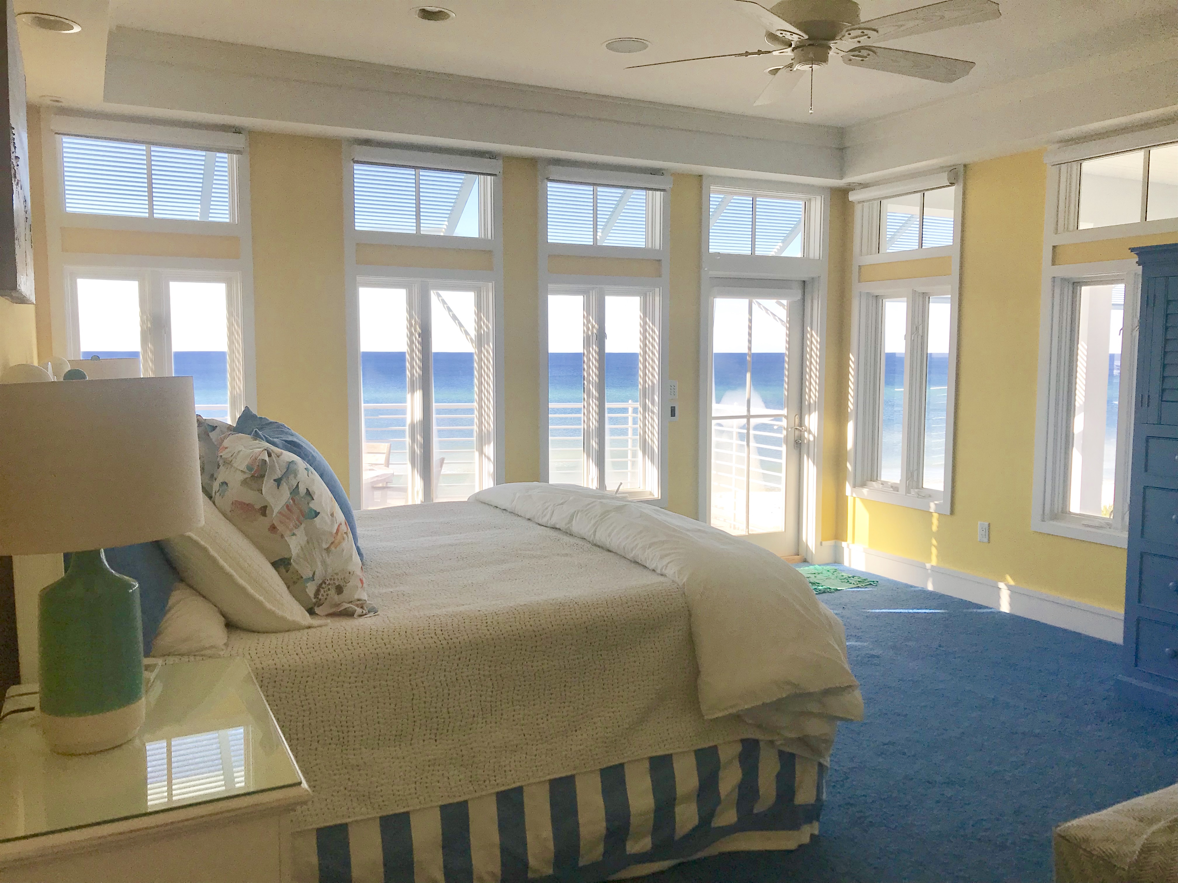 Gorgeous gulf views and a private balcony off the master