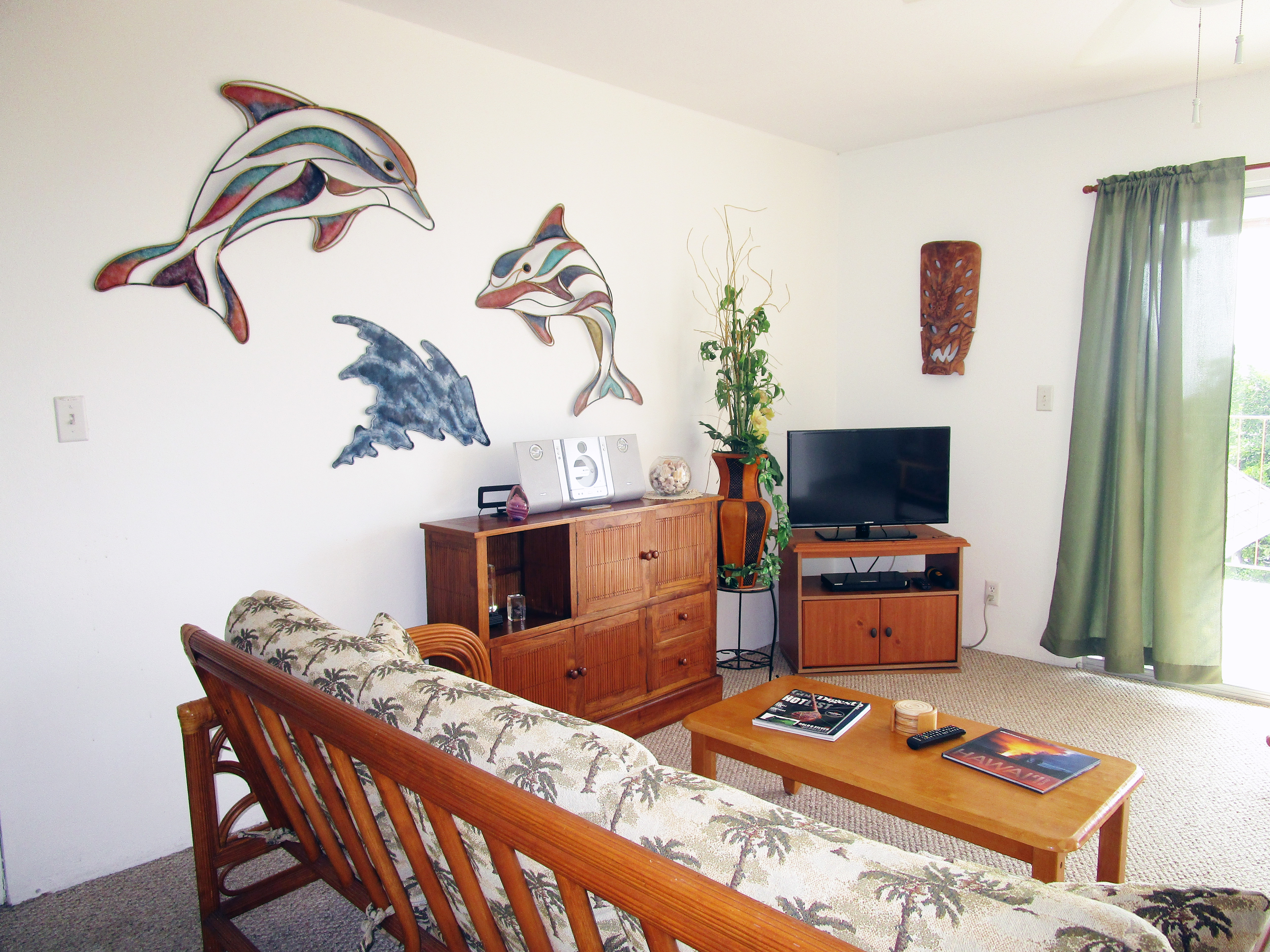 Dolphins and Entertainment Center