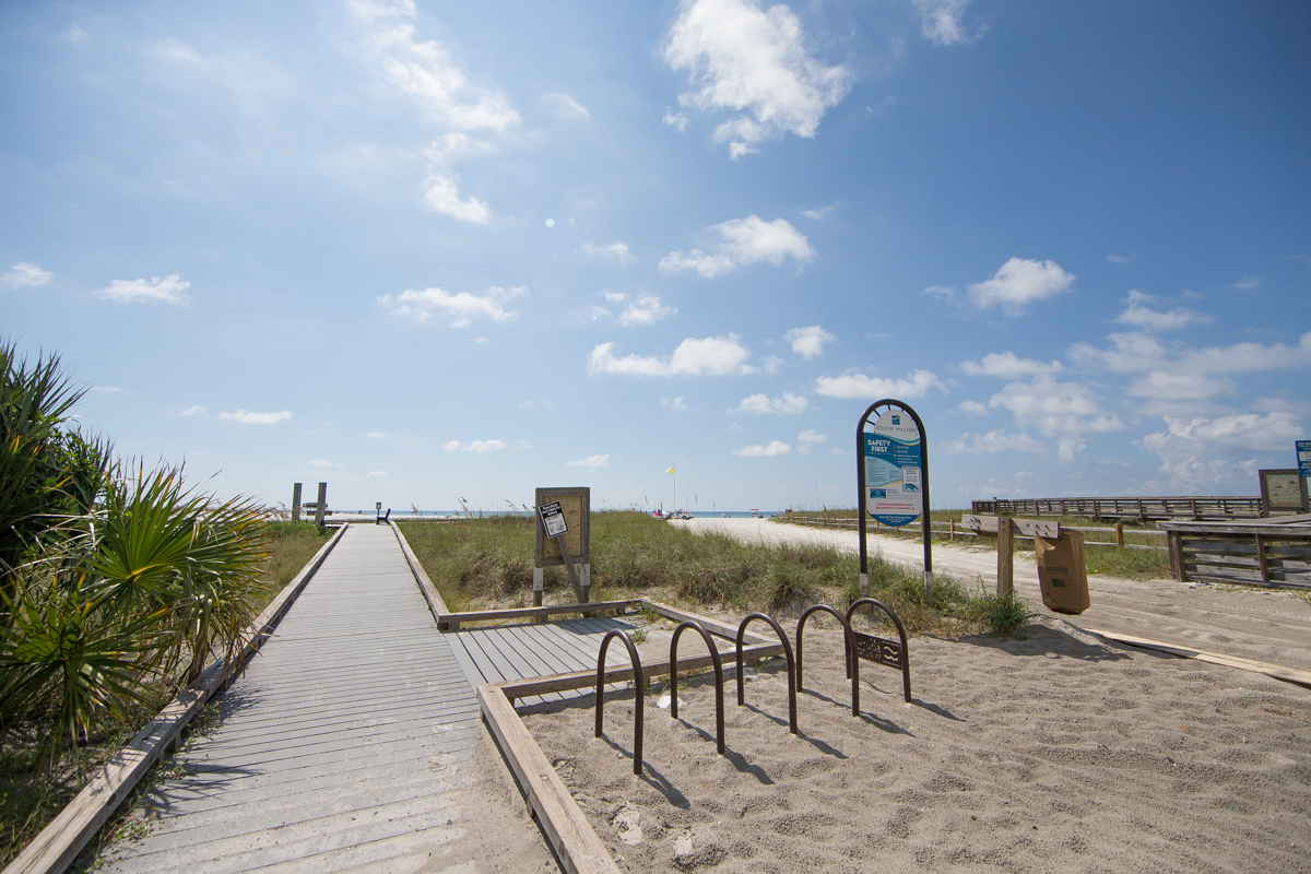 Beach Access at the South end of Garfield Street