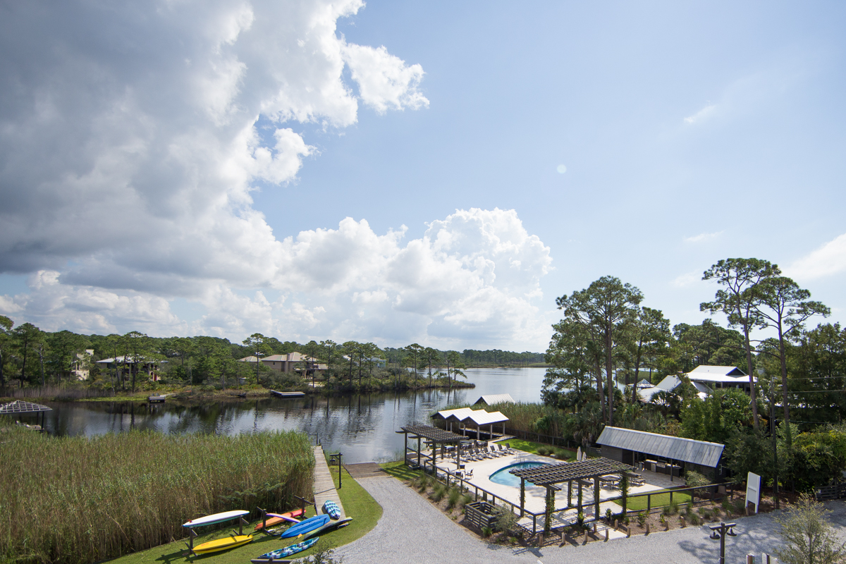 Amazing views of the Lake and neighborhood pool from the balconies