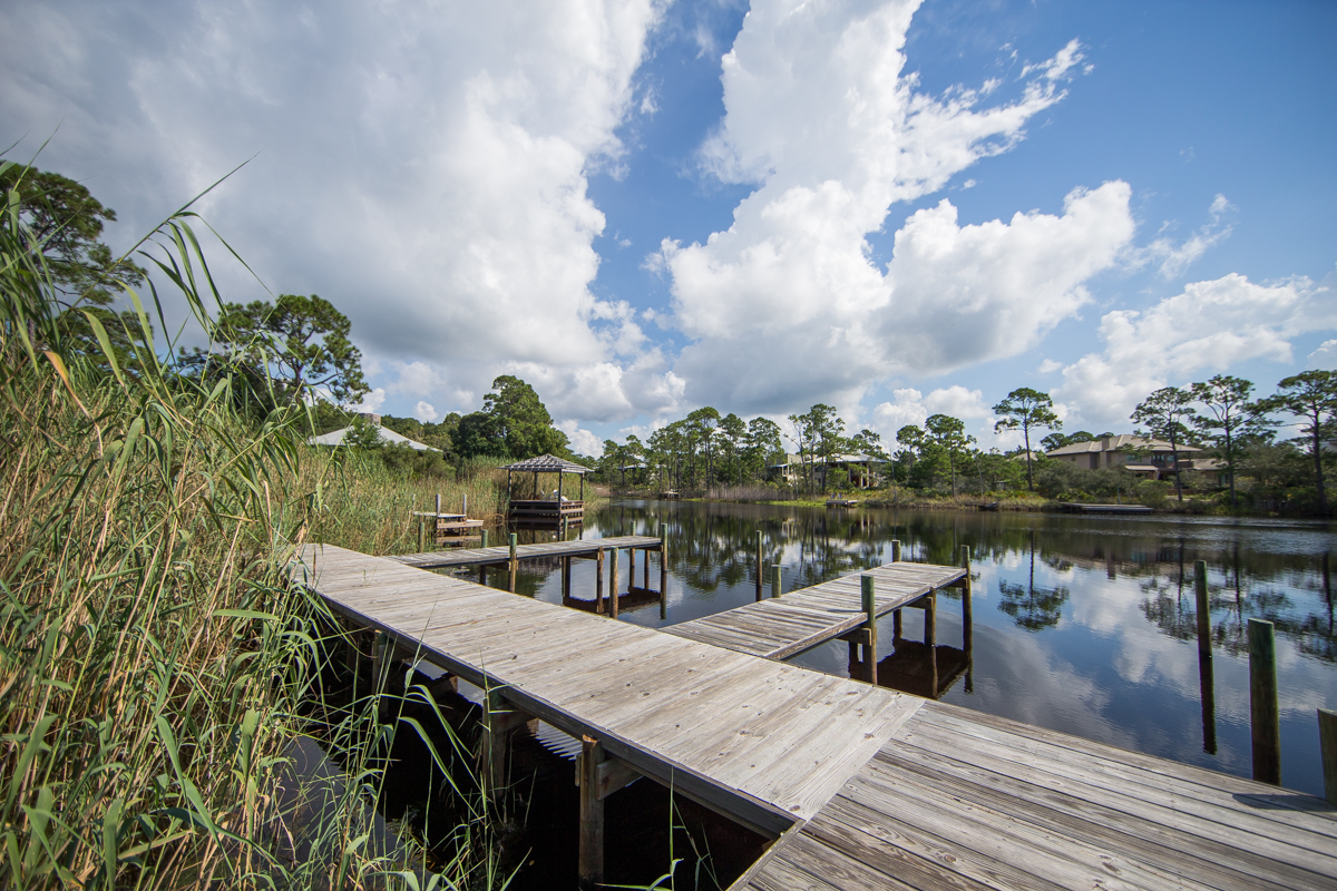 Dock access to Western Lake