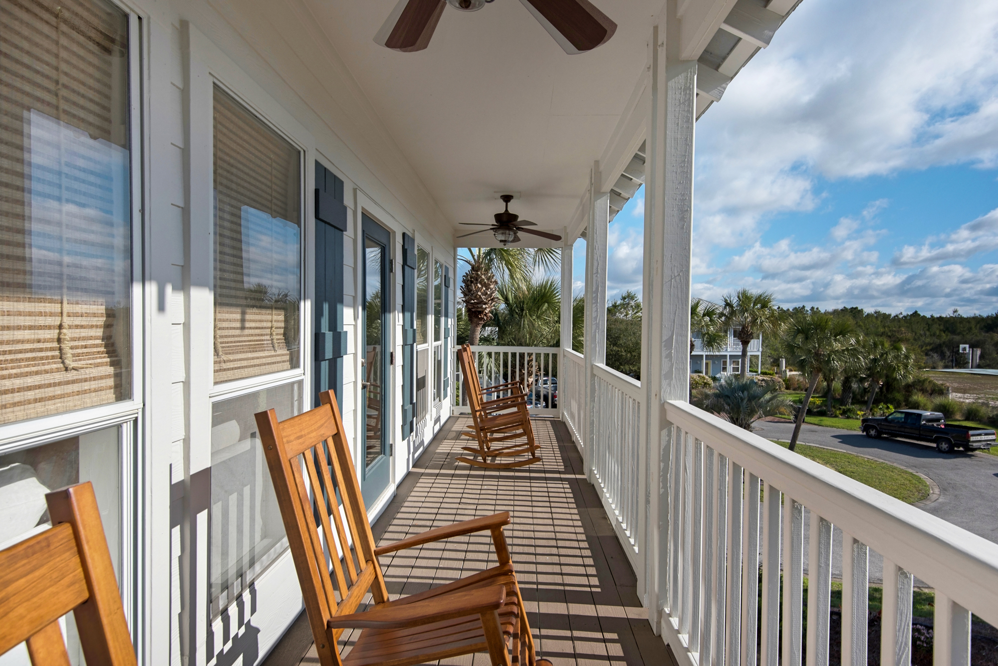 Direct Access to Second Floor Balcony