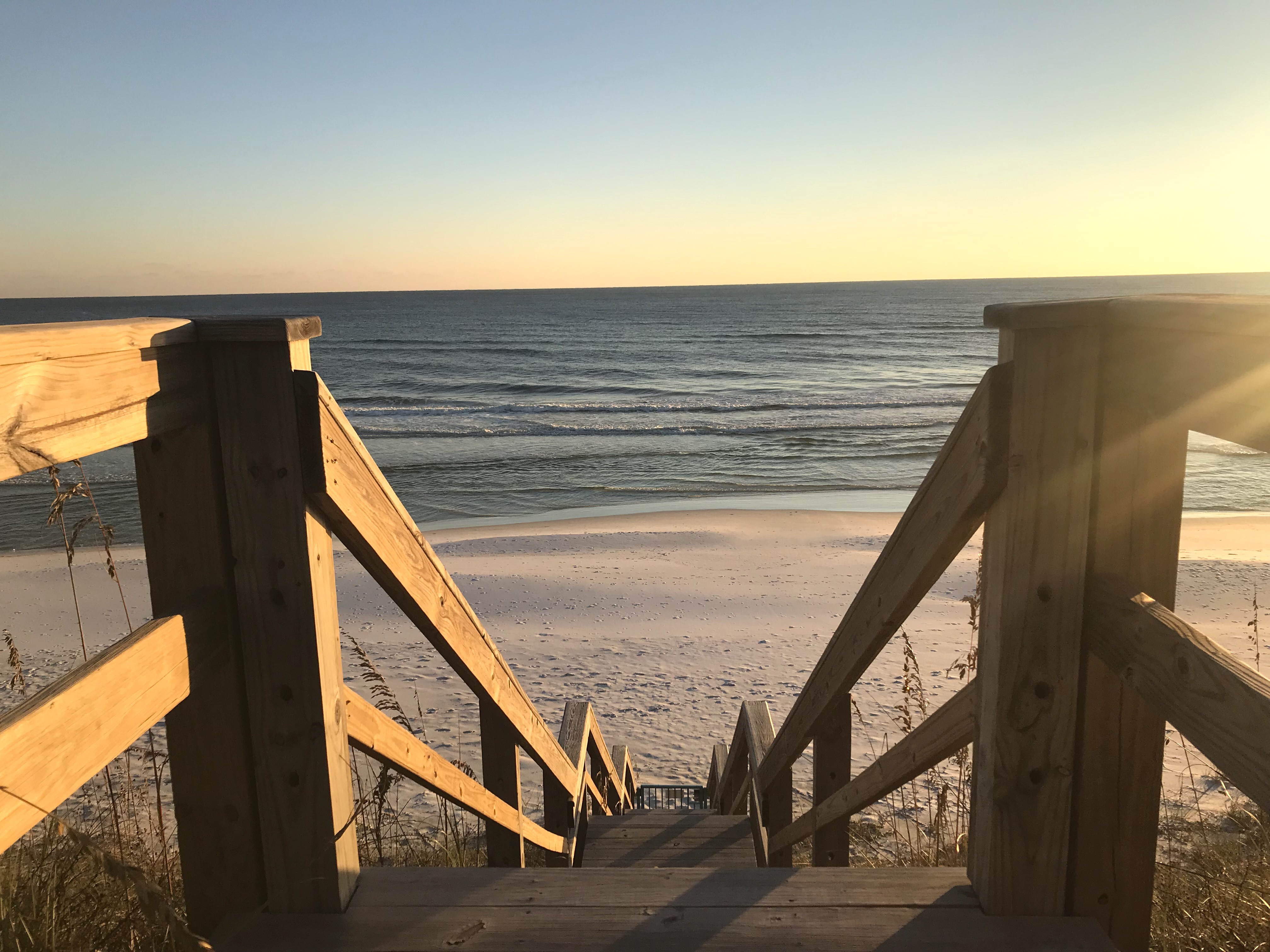 Stairway down to the beach