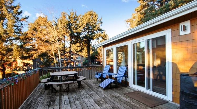 3 bedroom ocean view vacation home in Cannon Beach, OR