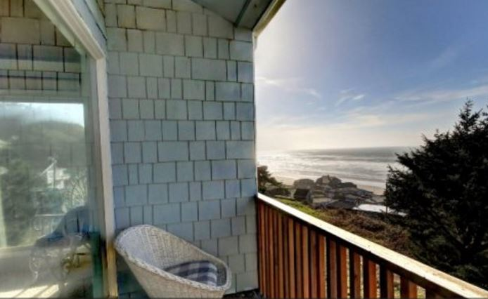 Ocean view vacation home in Cannon Beach, OR