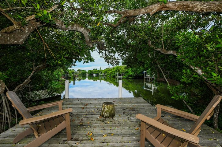 Anna Maria Island vacation rental with dock for boat and 2 bedrooms