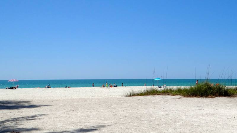 Anna Maria Island beachfront 1 bedroom vacation rental with pool