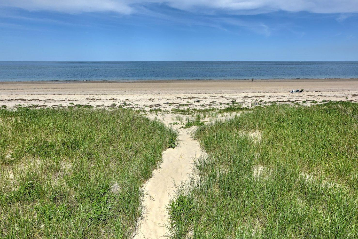 Pathway to the beach.
