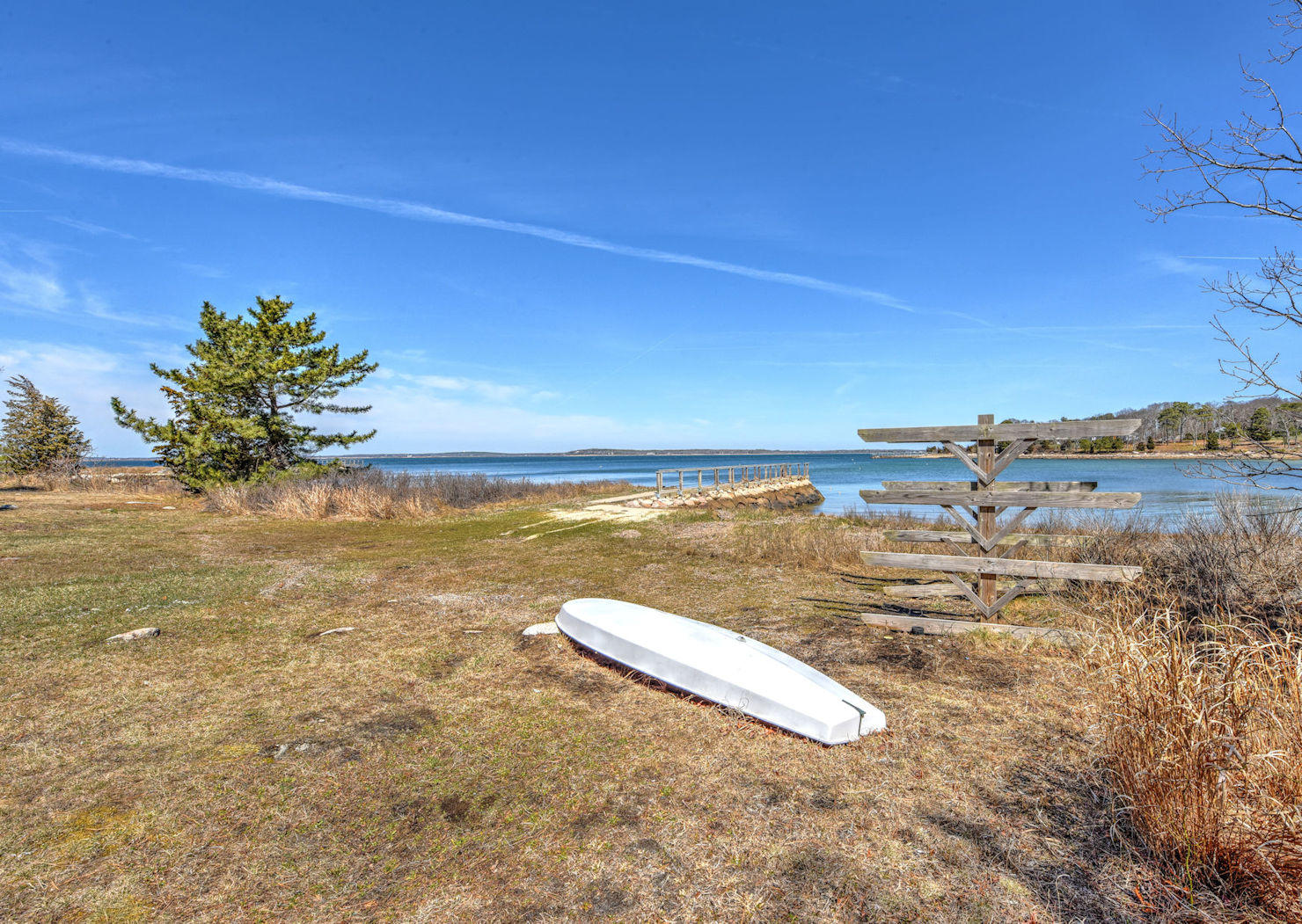 Enjoy kayaking in the protection of Wings Cove