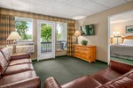 Edgewater Suites - Hawley Pennsylvania - Living Area - Woodloch Pines Resort
