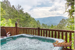 ALONE WITH A VIEW Sevierville Tennessee Heartland Cabin Rentals