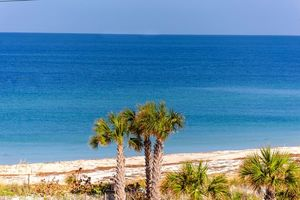 Blue waters of Anna Maria Island