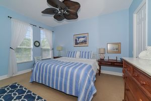 Master with king size bed and ensuite bathroom.