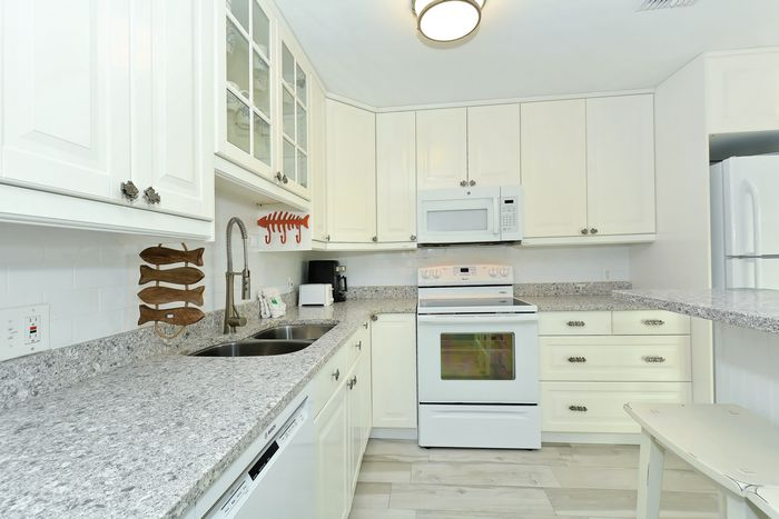 Beautiful renovated kitchen.