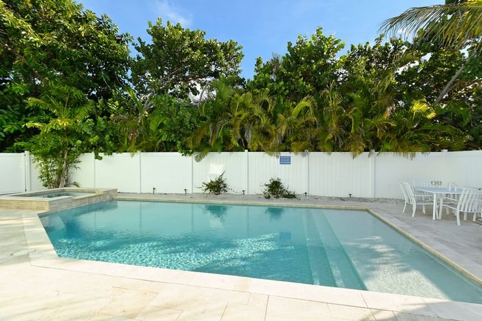 Private pool at Tarpon Pointe