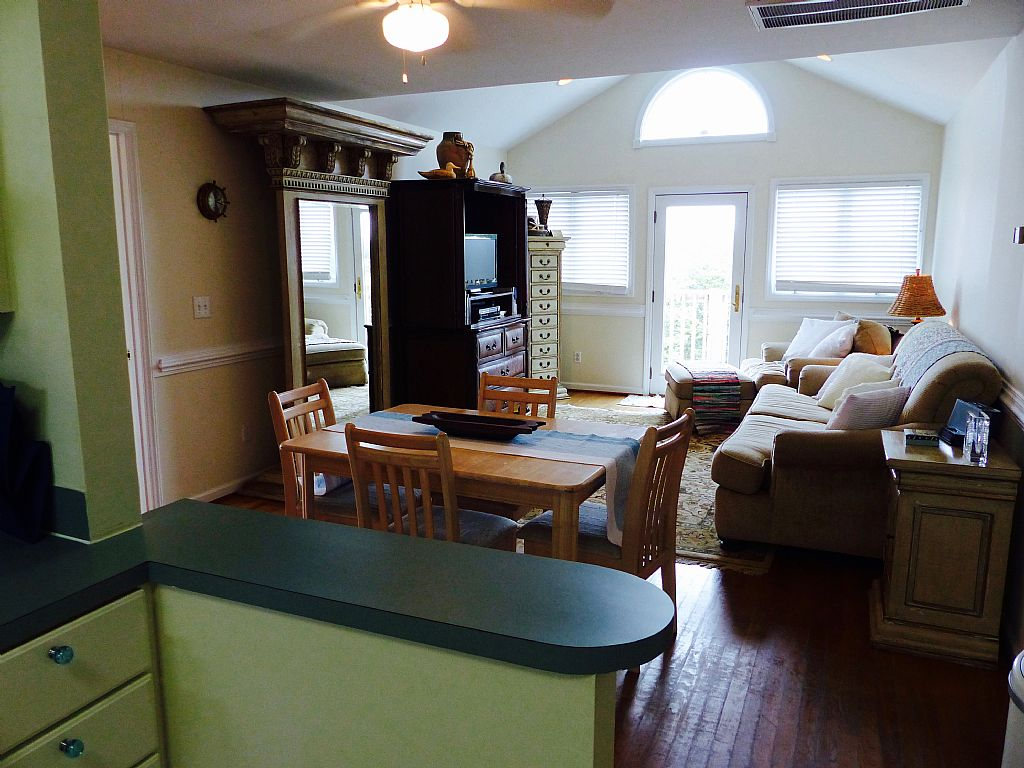 Kitchen to Dining/Living