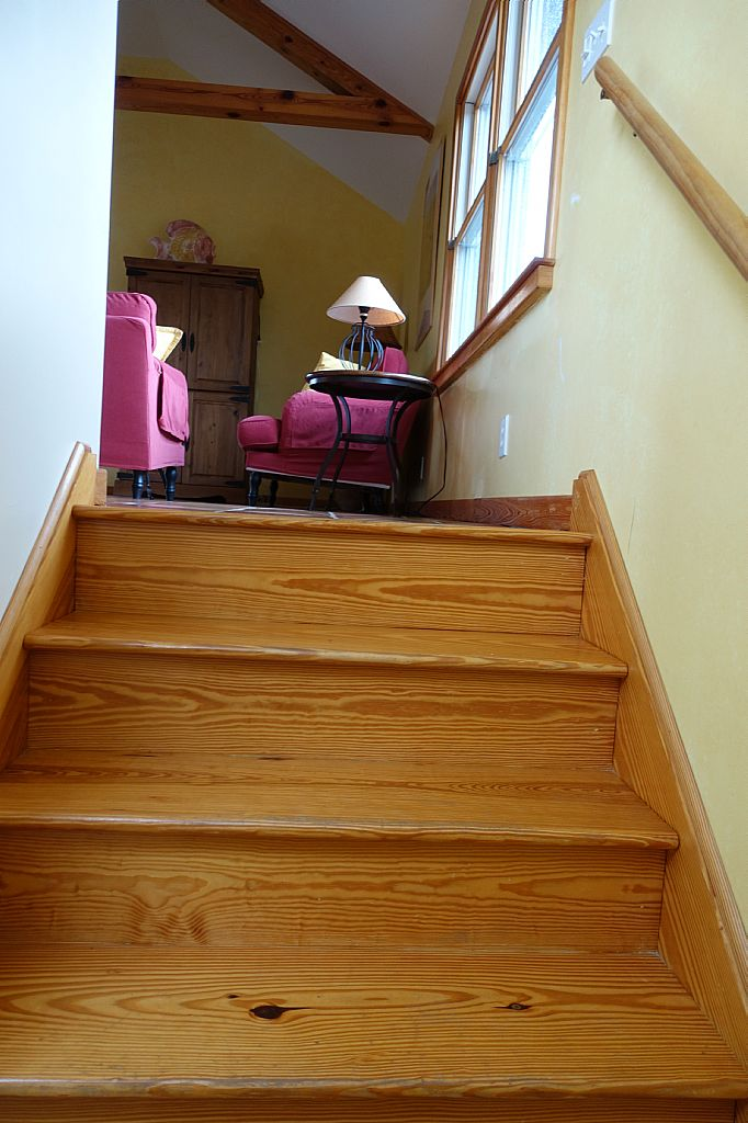Stairs off Entrance going Upstairs