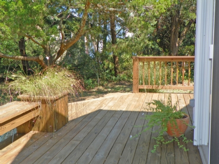 Deck from Master Bedroom