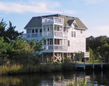 Exterior from Oyster Creek