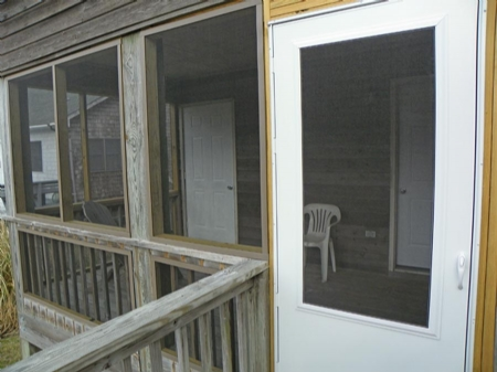 Screened Porch Downstairs