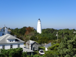 View of Lighthouse from Rooftop Deck