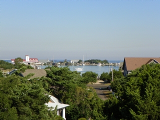 View of Silver Lake from Rooftop Deck