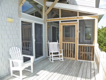 Deck to Screened Porch