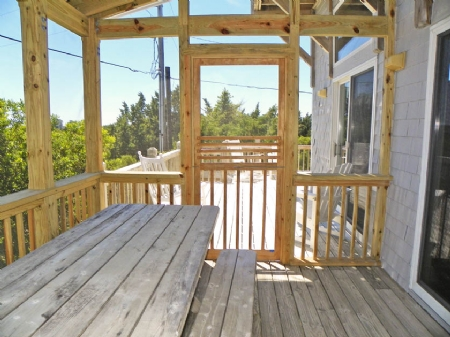 Screened Porch to Deck
