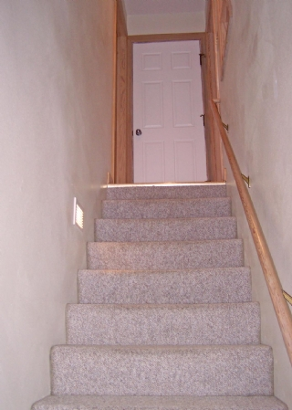Stairway to Master Bedroom Level