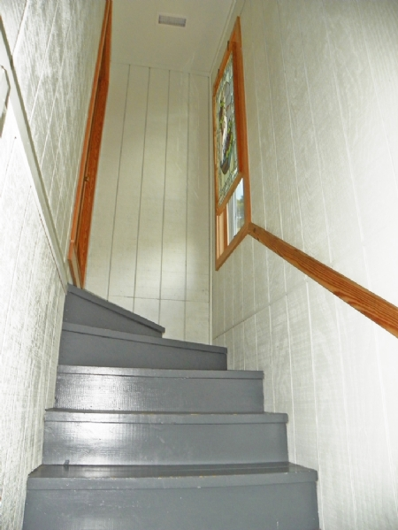 """Entry Stairs to """"On Silver Lake"""""""
