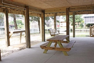 Picnic, Swing and Fish Table Area - Underneath