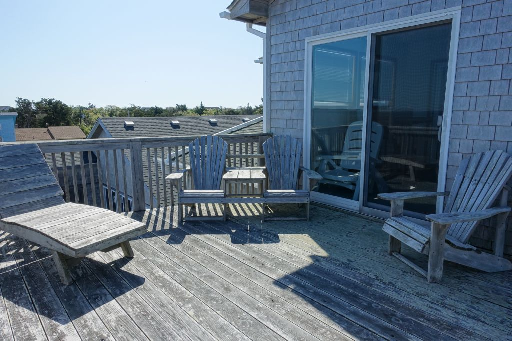 Deck off Sun Room Top Level