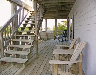 Deck lower level