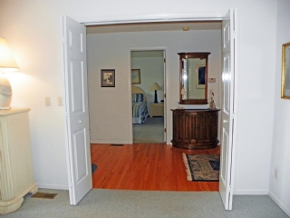 Looking from Living to Foyer
