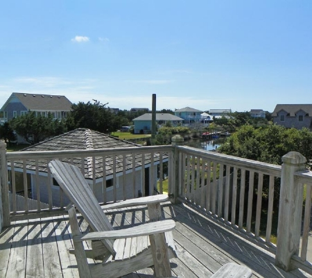 Upstairs Deck from Dining