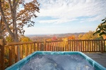 Gatlinburg 3 bedroom cabin rental in the Smoky Mountains with amazing views