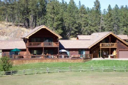 Main ranch house - B&B is located