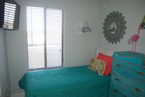 Another view of the third bedroom
