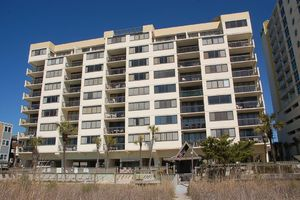 Shoreham Towers from the Oceanfront