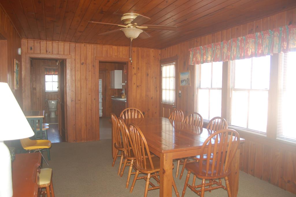 Another look at the upstairs dining area
