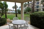 St Augustine Beach ocean view condo rental pool side with 2 bedrooms sleeps 6 ground floor unit