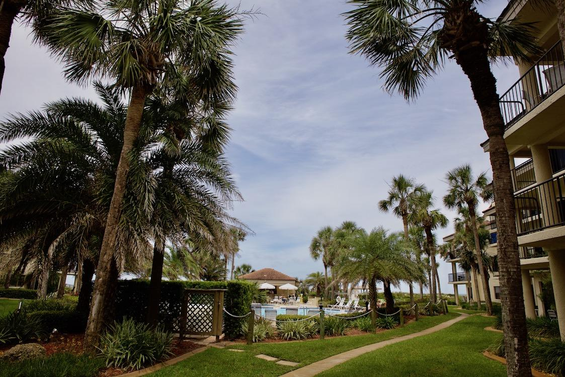 St Augustine 2 bedroom condo rental with pool and ocean views