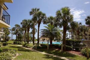 St Augustine Beach ocean view accommodations with pool and beach access 2 bedrooms sleeps 6