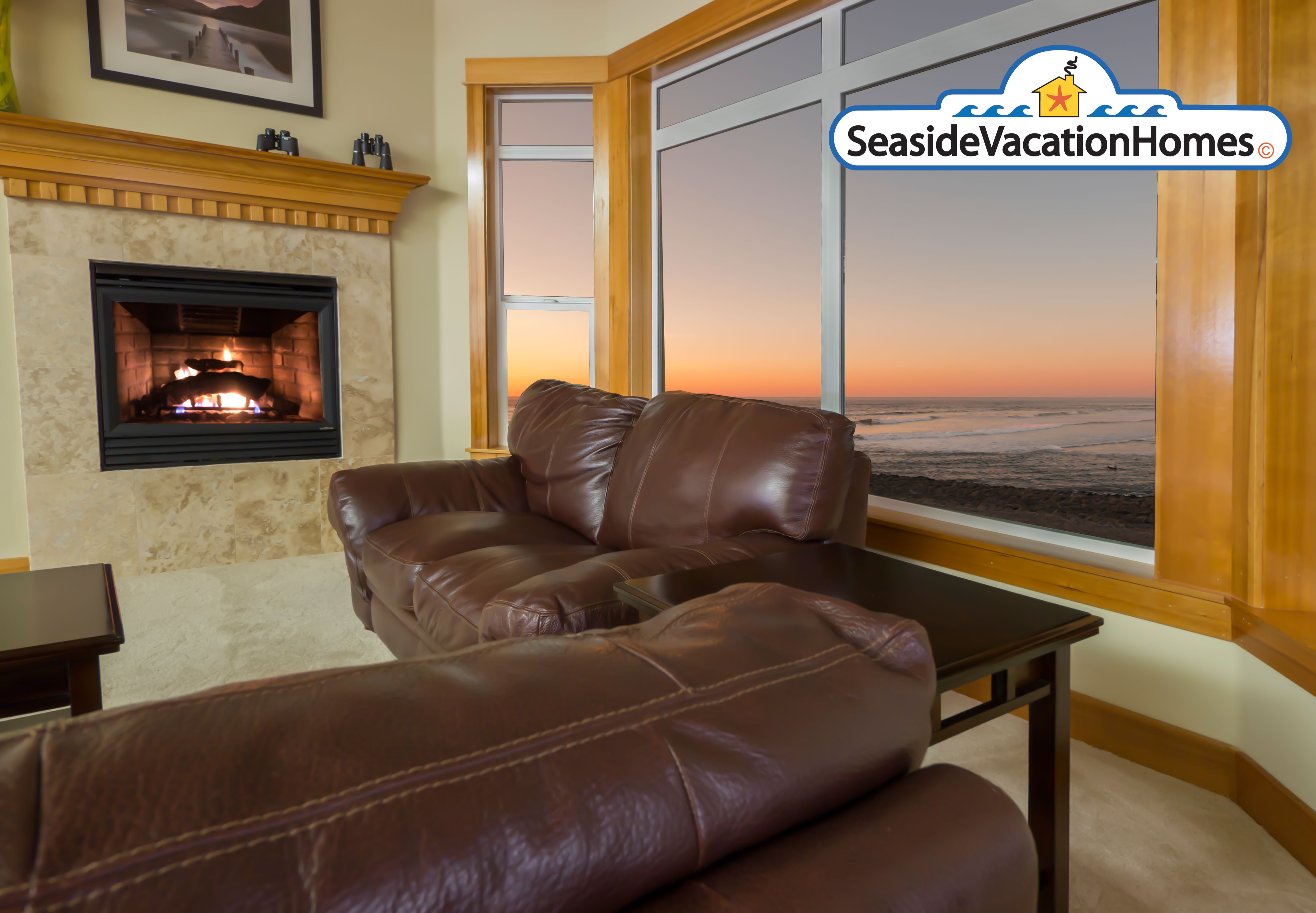 Seaside, OR oceanfront 4 bedroom vacation house for rent sleeps 9