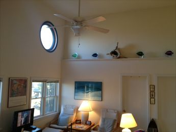 Living Room Vaulted Ceiling