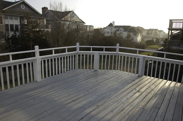 Deck off the Master Bedroom on the Second Floor