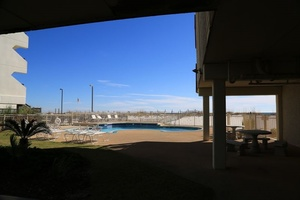 Southern sands pool deck