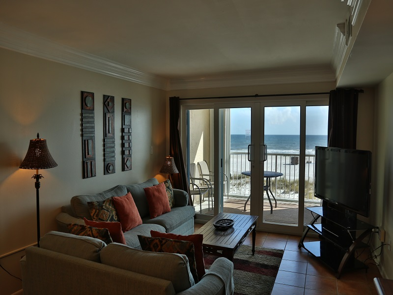 Castaways 2C - Great view from living room