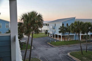 Sea Oats G203 - View of lagoon from private balcony!