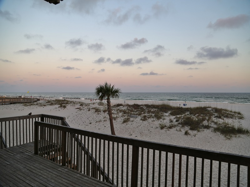 Ocean Reef 802 - Gorgeous, gulf front view from balcony
